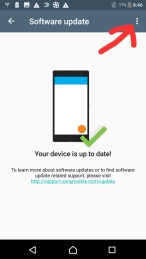Disable automatic updates on Sony Xperia XA-1   My Little Space